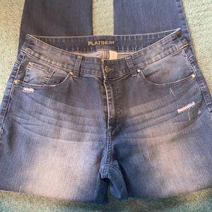 Chico's Platinum super stretch jeans Chico's 2❣️